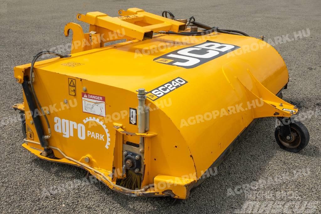 JCB SC240 - Sweeper collector, for JCB loaders, 2,4 m