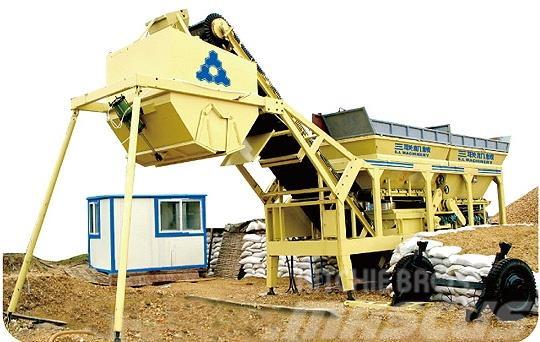 SanLian 200m³/h,300m³/h Mobile Soil Mixing Plant