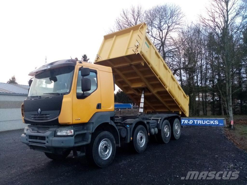Renault Kerax 450 dxi tri-benne comme neuf!