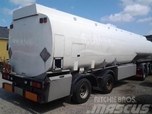 Kässbohrer 41000 L Tank Petrol Fuel ADR Pumpe 4 units