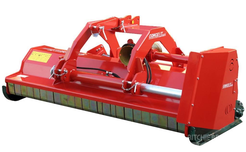 Concept Perugini DT240 - Slagleklipper Front eller Bagmonteret m. H