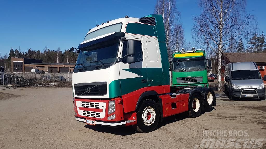 Volvo FH500XL 6x2 WB3000mm hydrauliikalla