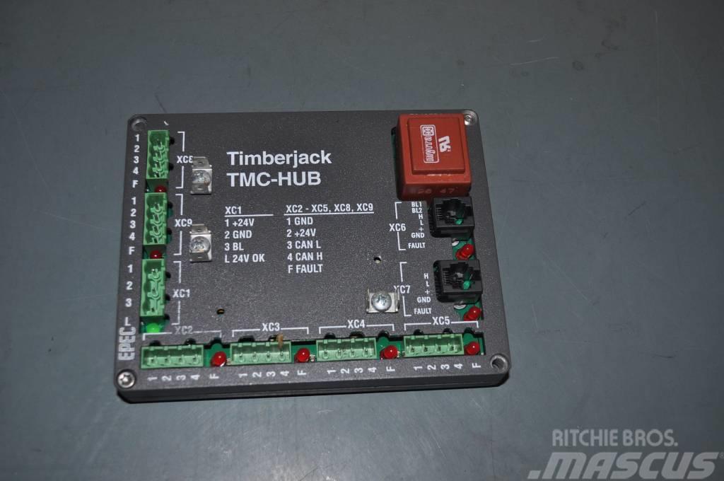 Timberjack 1270B Hub module