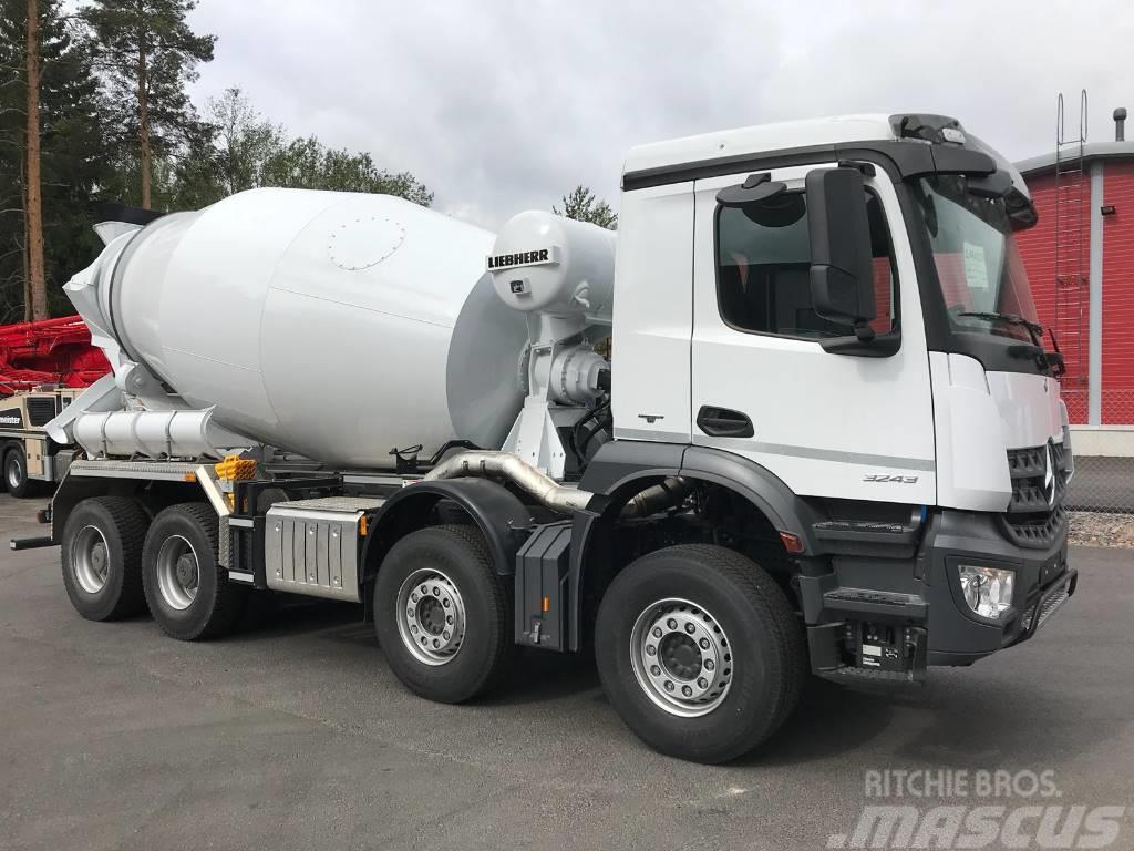 used mercedes benz arocs 3243 concrete trucks year 2018. Black Bedroom Furniture Sets. Home Design Ideas