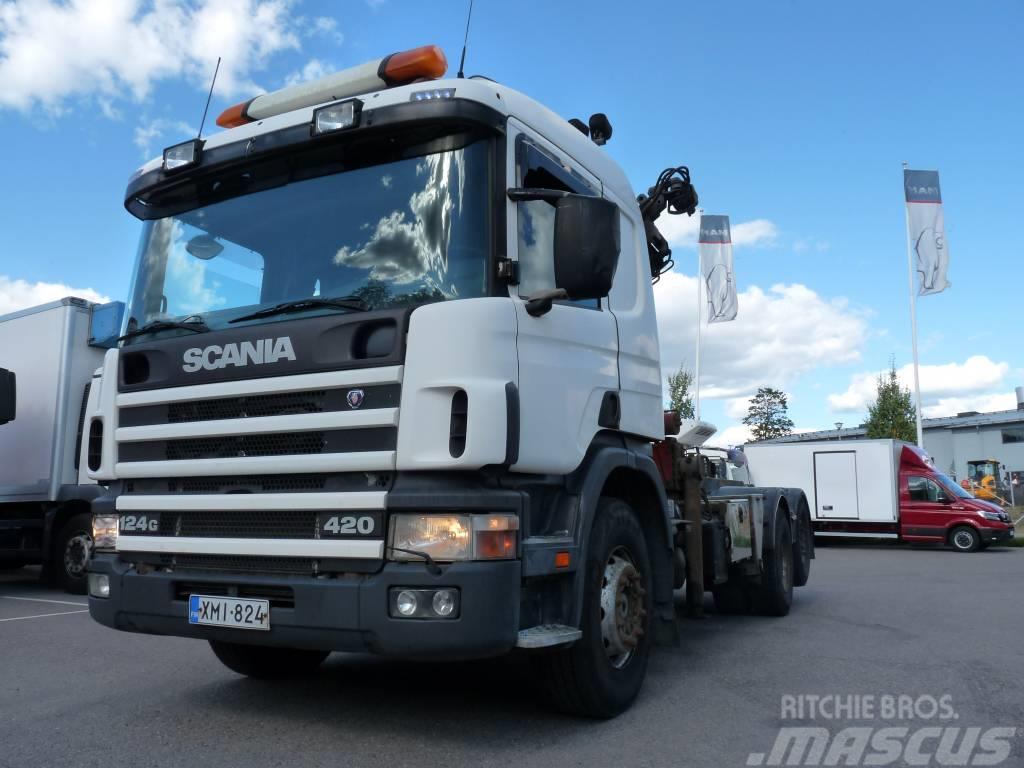 Scania P124 G 420 6x2