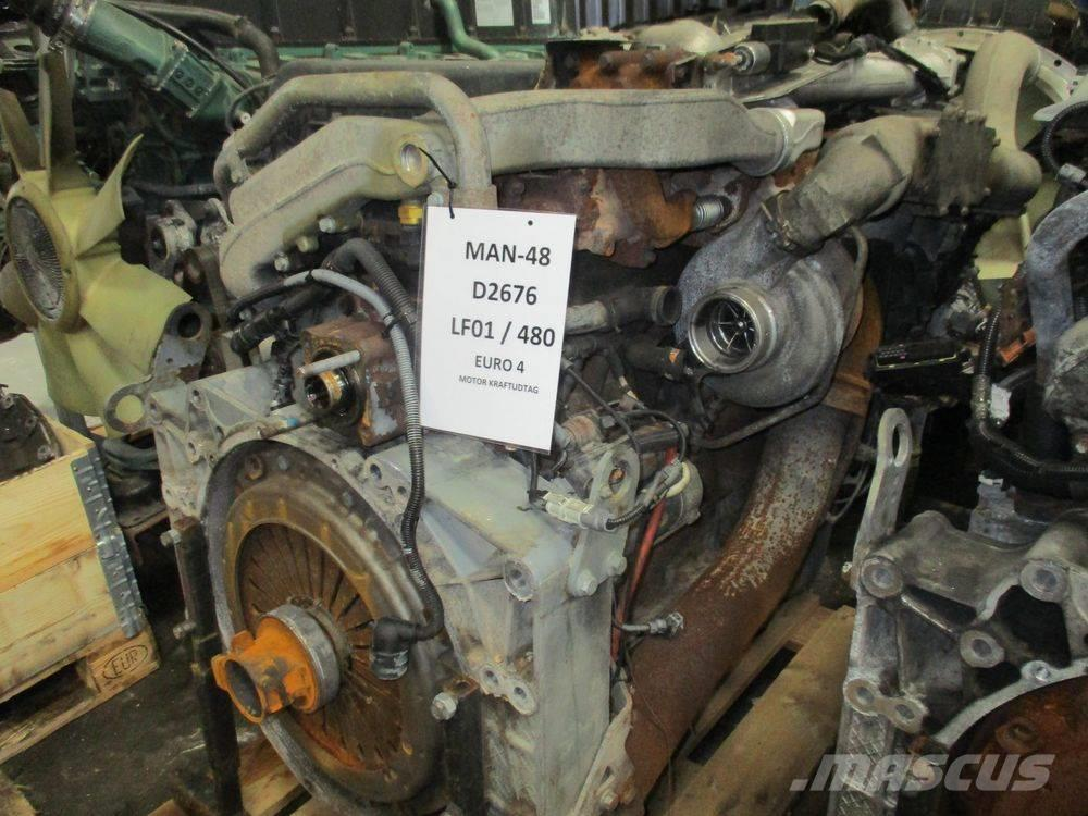 MAN D2676 LF01 / 480 HP - PTO ENGINE !!