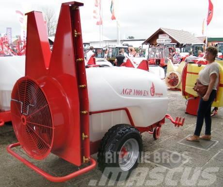 Agromehanika AGP 1500 l EN vontatott