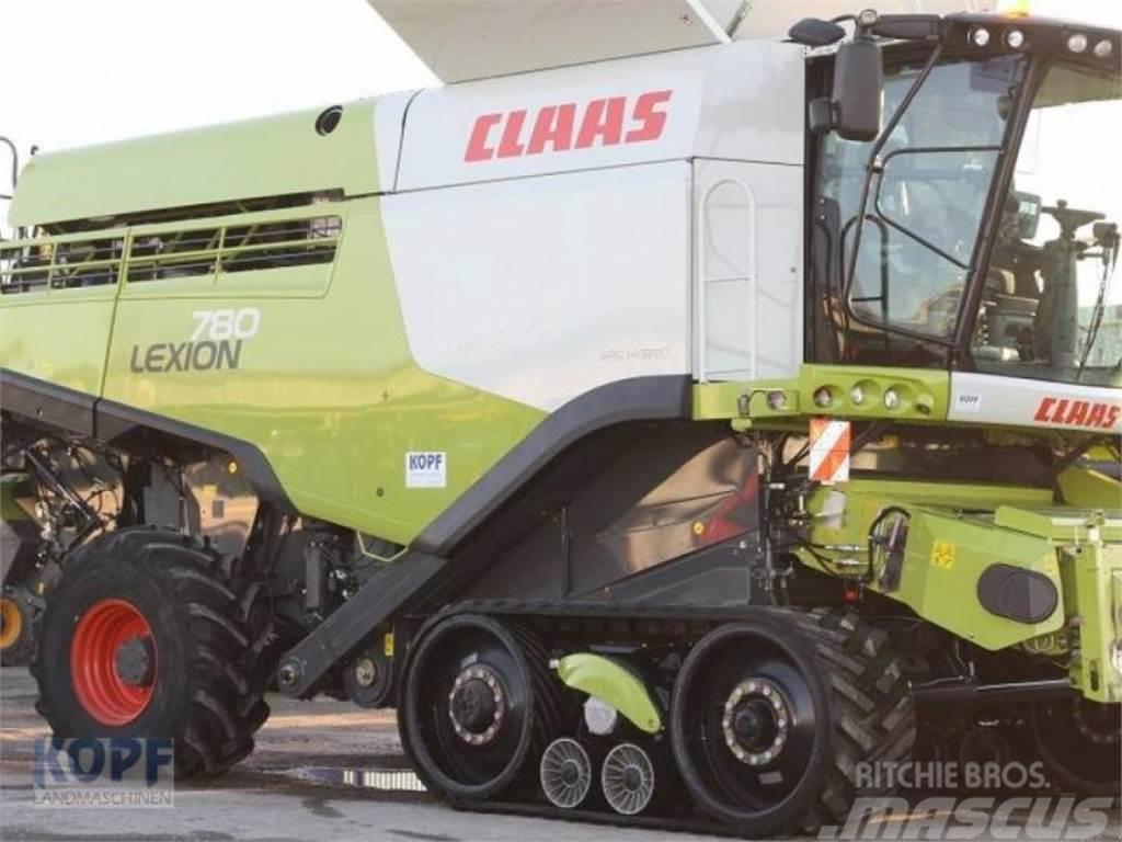 CLAAS lexion 780 tt allrad mercedes-motor