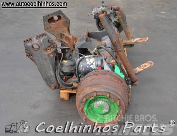 Scania 2 BP, 2000, Hjulaxlar
