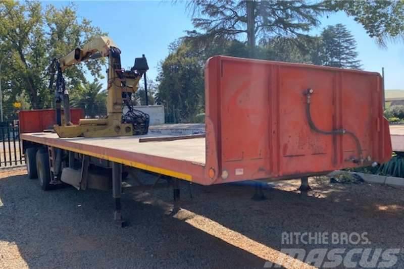 [Other] CTS 13m Tri Axle Brick Crane Trailer