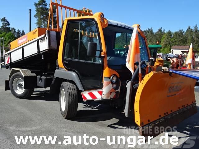 Lindner Unitrac 102 4x4x4 Zapfwellen Kipper Winterdienst