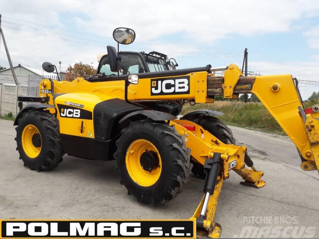 JCB 533-105 115.000 zł netto JCB 535-125 535-95 531-70