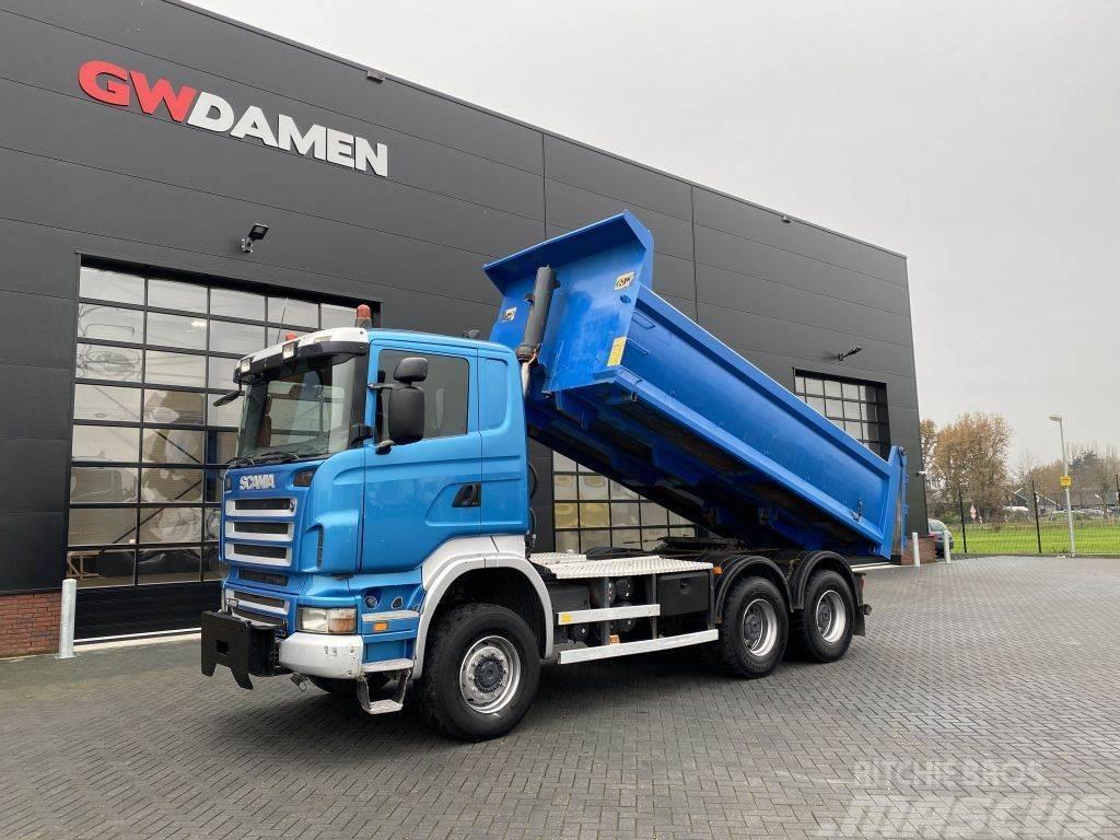 Scania R 420 6x6 Kipper / Trekker