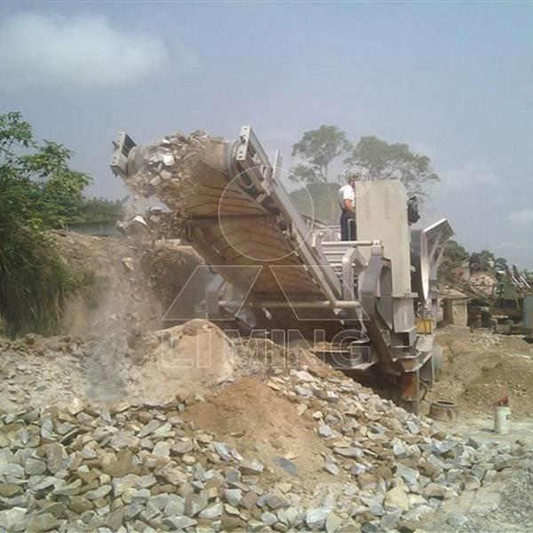 Liming 50tph móvil línea de producir arena
