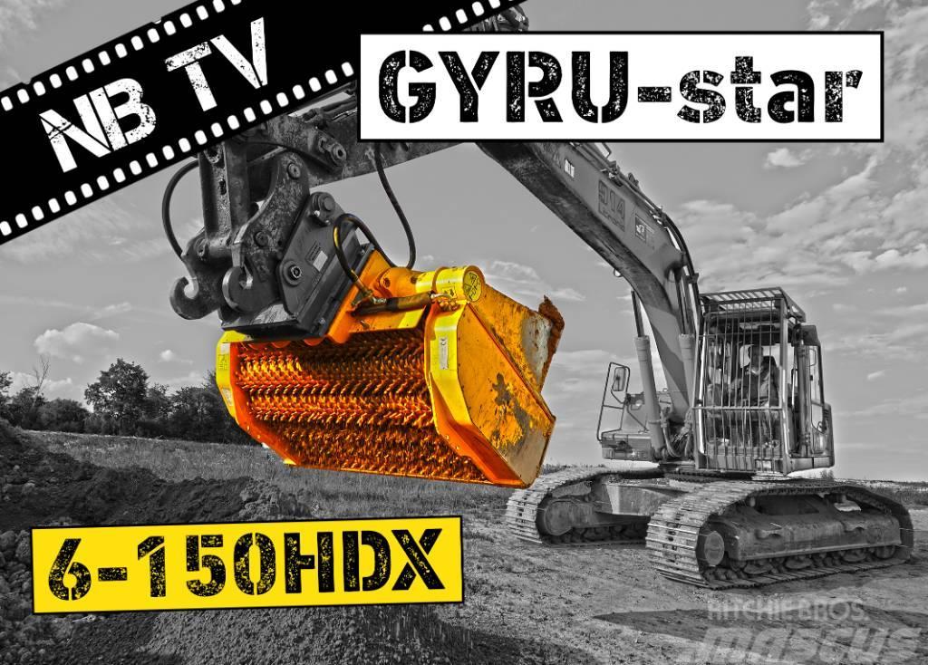 [Other] GYRUStar 6-150HDX HARDOX | Schaufelseperator