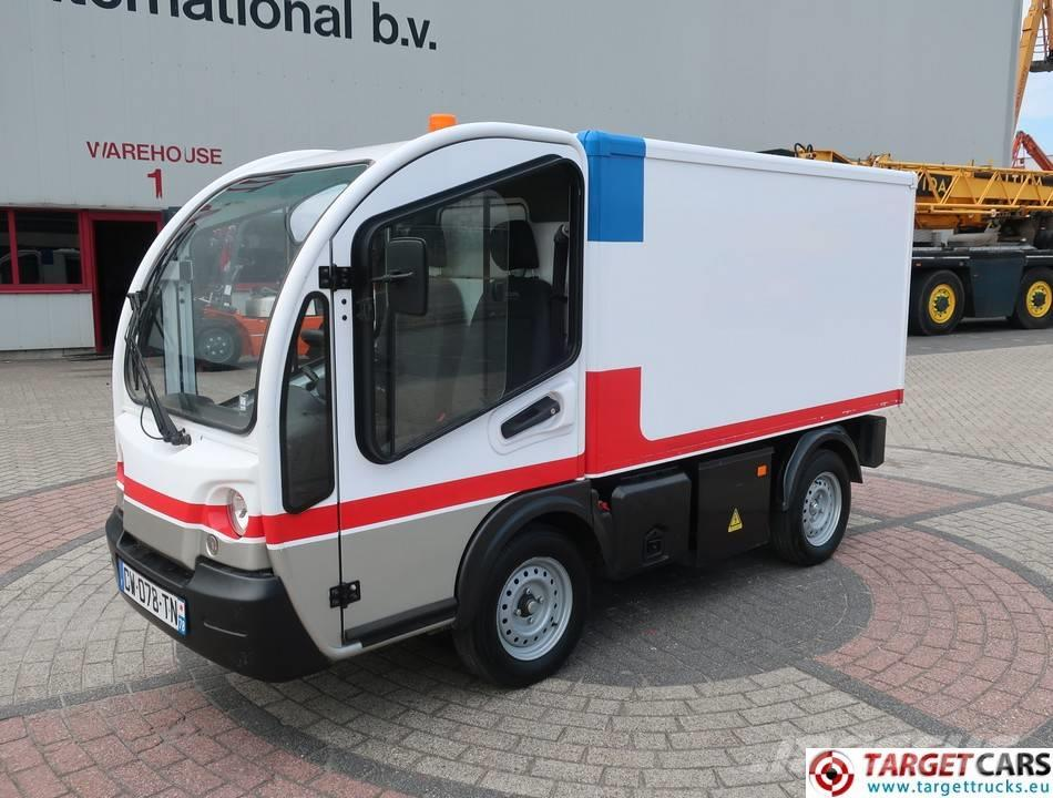 Goupil G3 UTV Electric Utility Closed Box Van