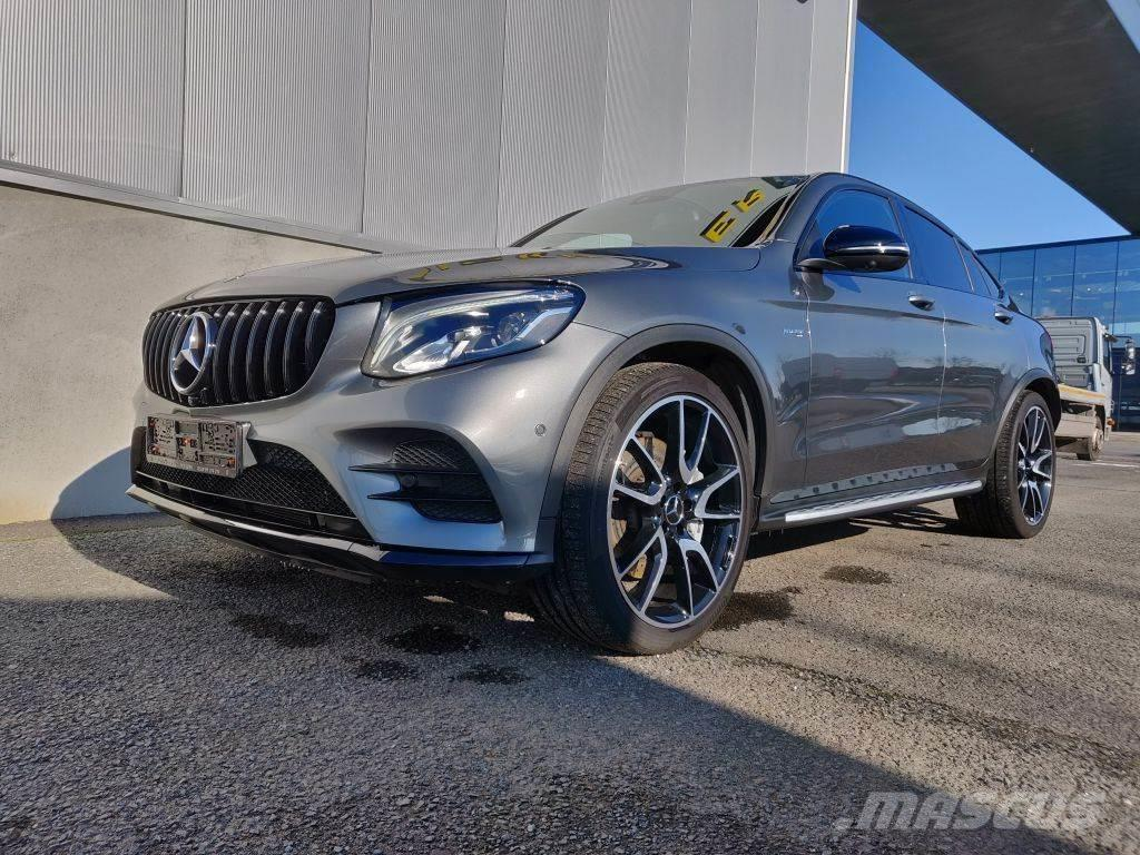 Mercedes-Benz GLC 43 AMG coupé *360 camera *leder/alcantera *Zet