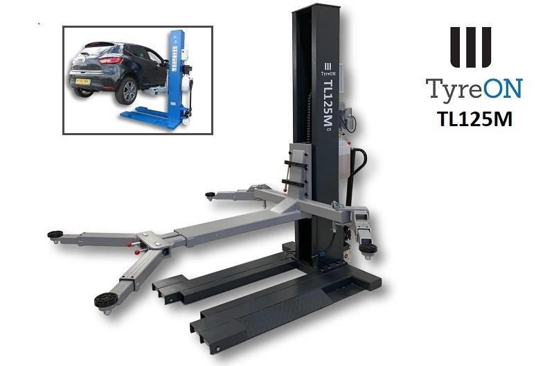 TyreOn TyreON TL125M   2500KG   single post car lift