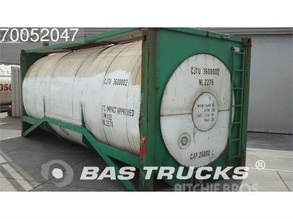 BSL Tankcontainer 20? pressure Testdruk 2,5 bar Werkdr