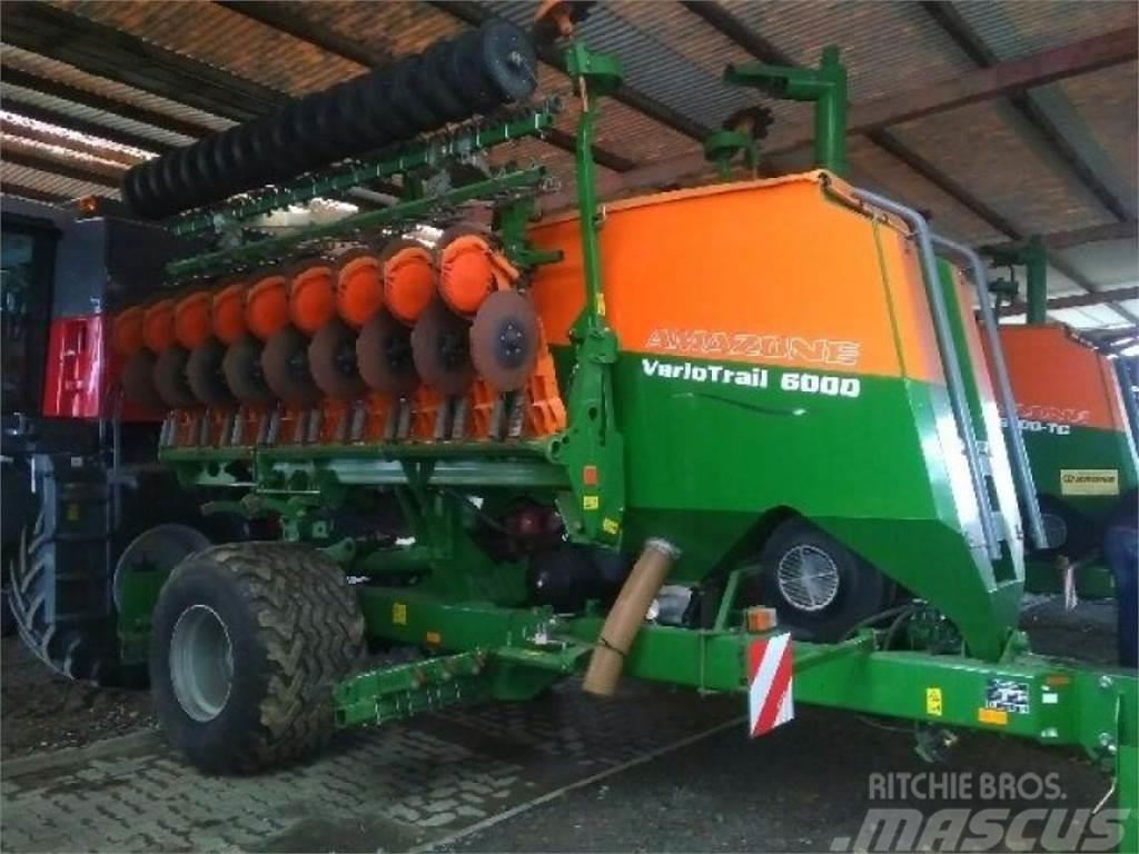 Amazone Citan 6000 mit Vario Trail 6000