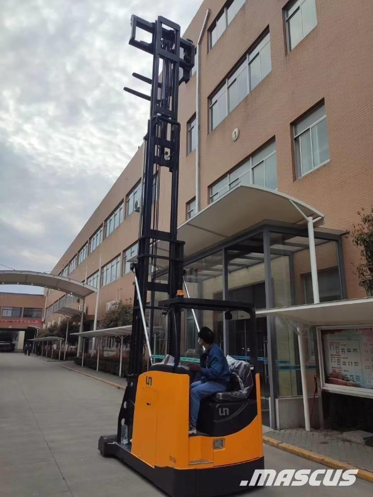 UN Forklift 1.5Ton Man-down VNA with 6000mm mast