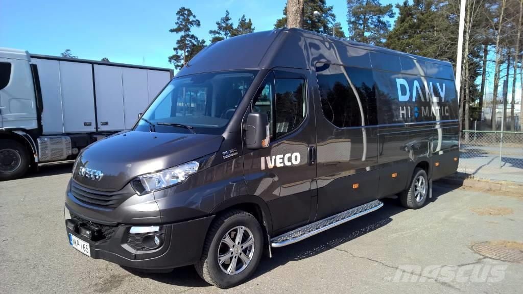 iveco daily 35s18a8 retkeilyauto 1 5hl 2017 r turku. Black Bedroom Furniture Sets. Home Design Ideas