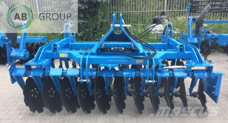 Inter-Tech Heavy Disc harrow 3m/Scheibenegge /Grada de discos