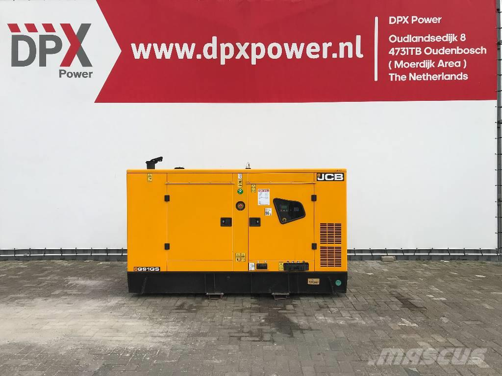 JCB G91QS - 91 kVA Generator - DPX-11878