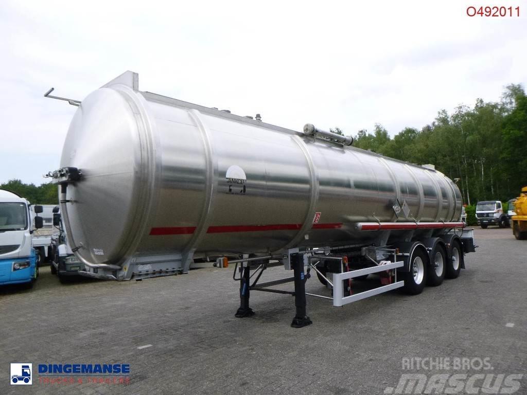 Magyar Fuel tank inox 37.5 m3 / 1 comp