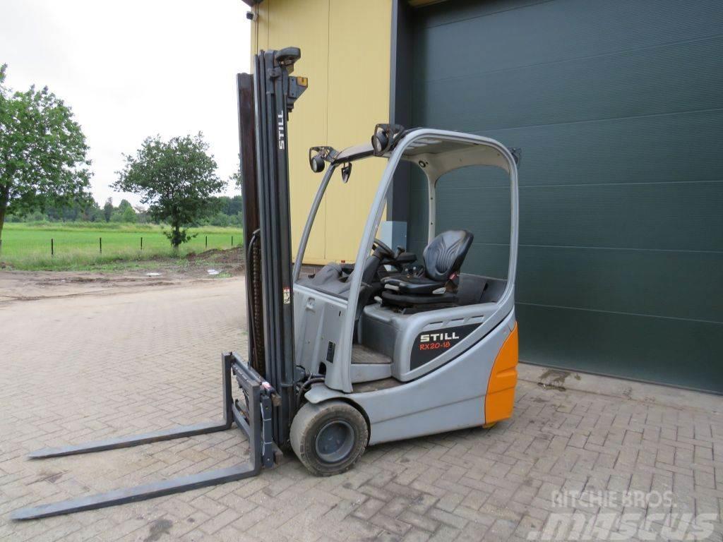 Still rx20 18 heftruck elektrische zeer goed