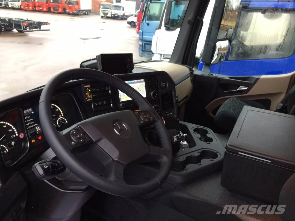 Mercedes Benz Actros 2543l Crane Trucks Year Of