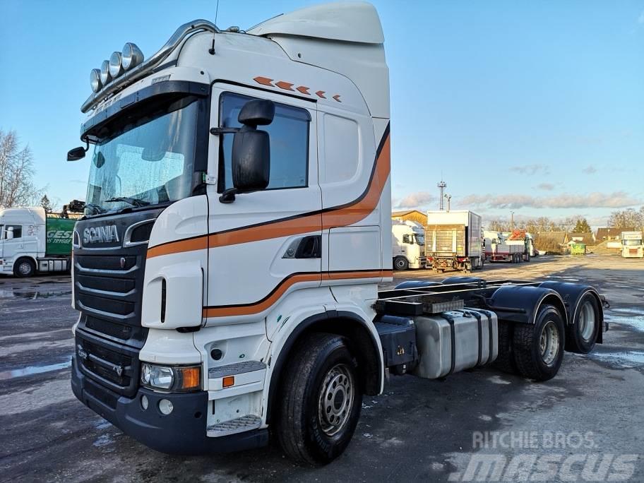 Scania R620LB6X2HSA PTO+RETARDER,wb:4100