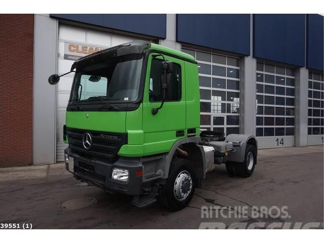 Mercedes-Benz Actros 2040 4x4 Steel suspension