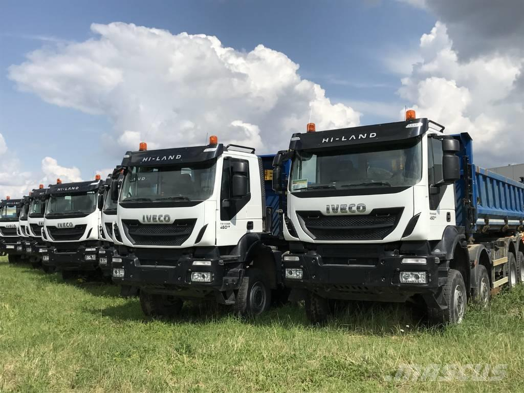 Iveco TRAKKER 450/3 SIDED/ 8×8/HYDRAULIC SIDE TIPPER