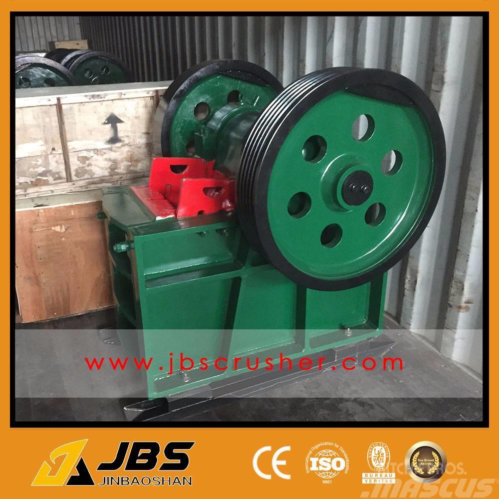 JBS 8 TPH STONE JAW CRUSHER PE250X400