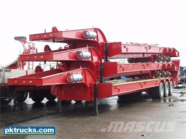 Lodico 3 Axle low-bed trailer (6 Units)
