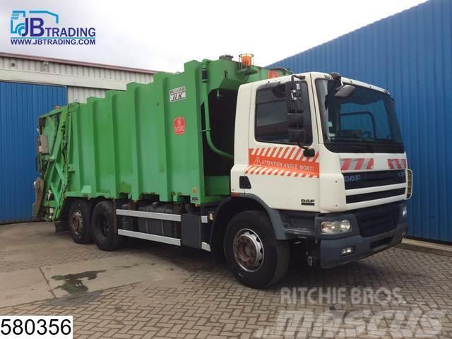 DAF 75 CF 250 6x2, garbage truck, Mol Pusher IIK CB DU