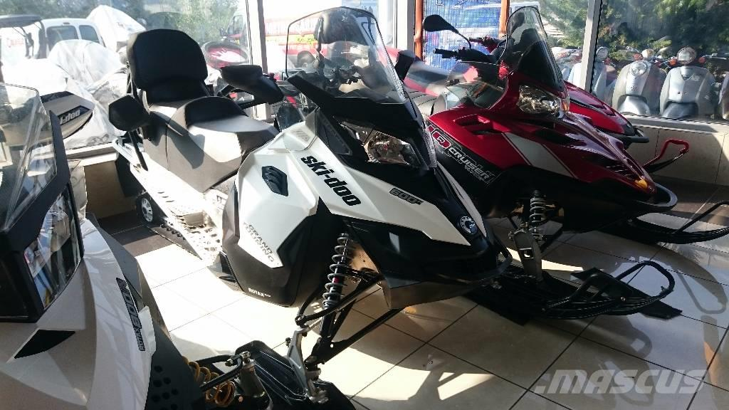 Ski-doo Grand Touring 600 ACE 2015  200km!!!