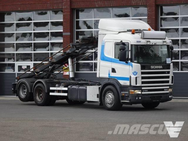 Scania 164-580 LB6x2NB Container cable system, Low Kilome