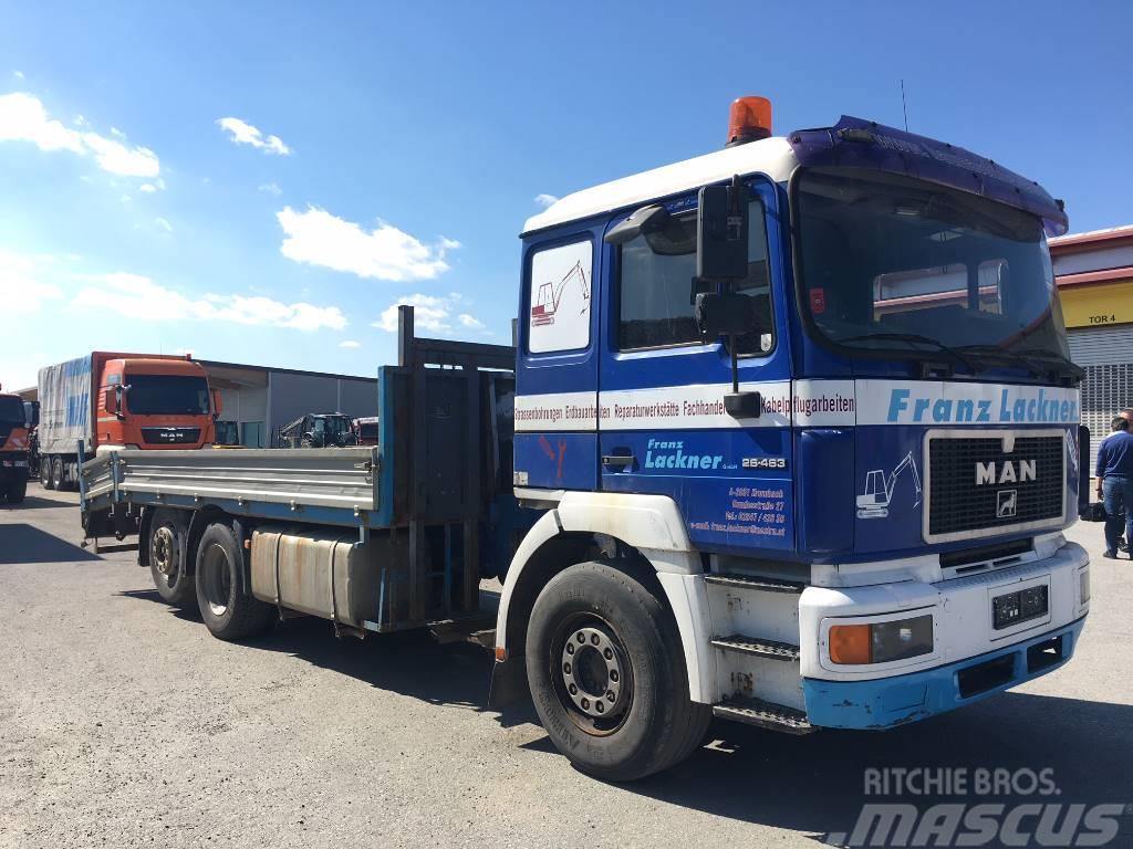 MAN 26.463 - Tieflader LKW  (Baumaschinentransport)