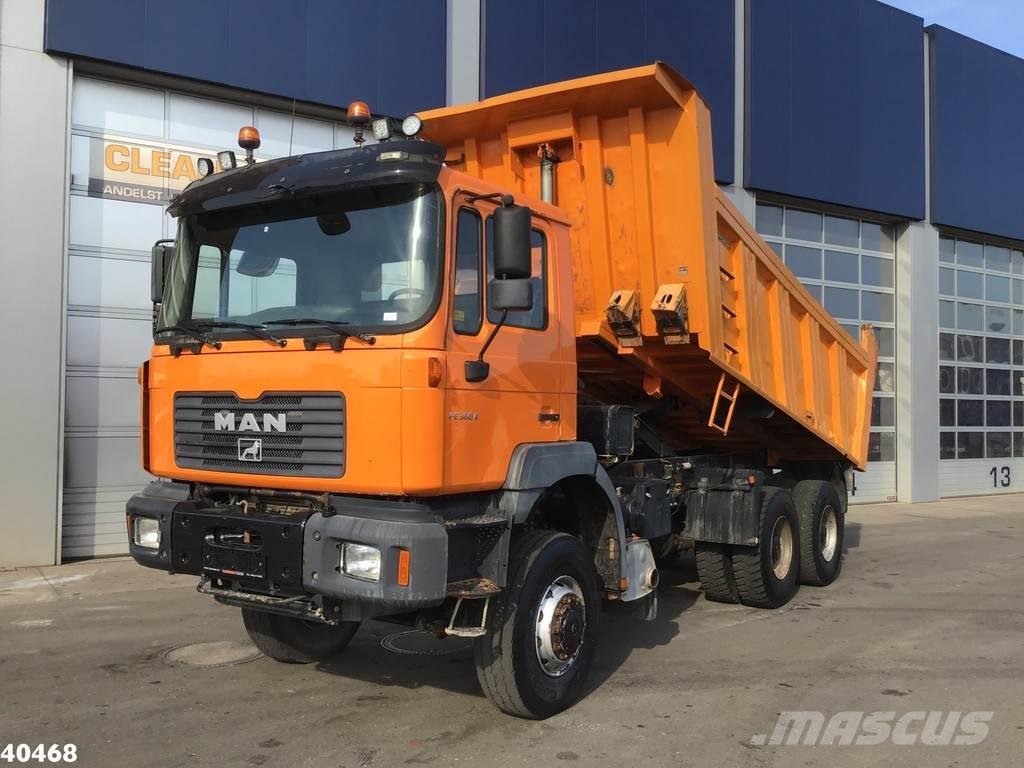MAN 33.364 DFAK 6x6 Manual Full steel