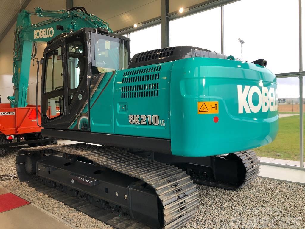 Kobelco SK 210 LC - Bandgrävare