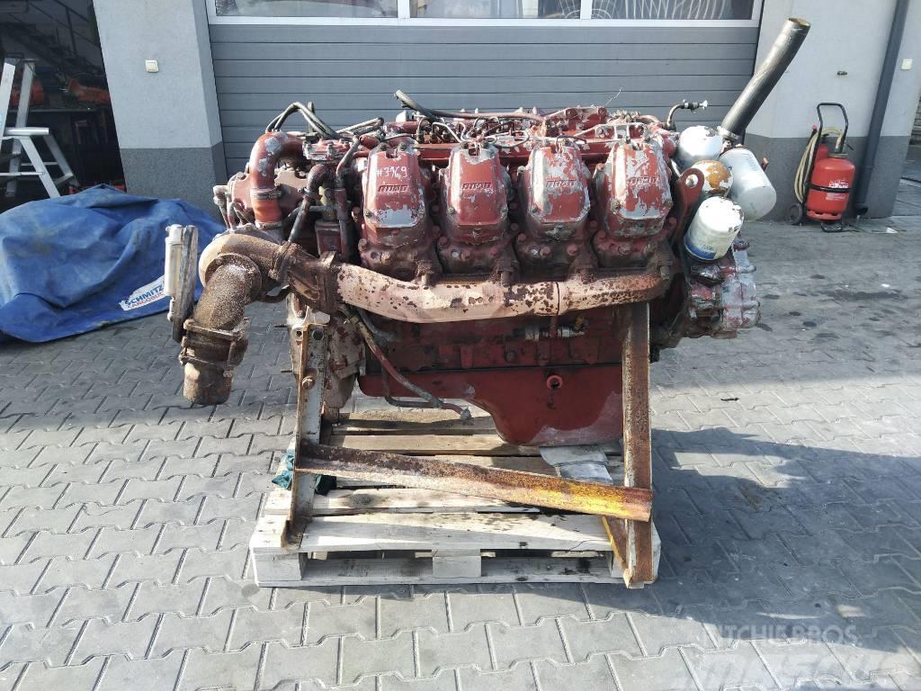Fiat Iveco Silnik Engine Motor V8 8-cylindrowy