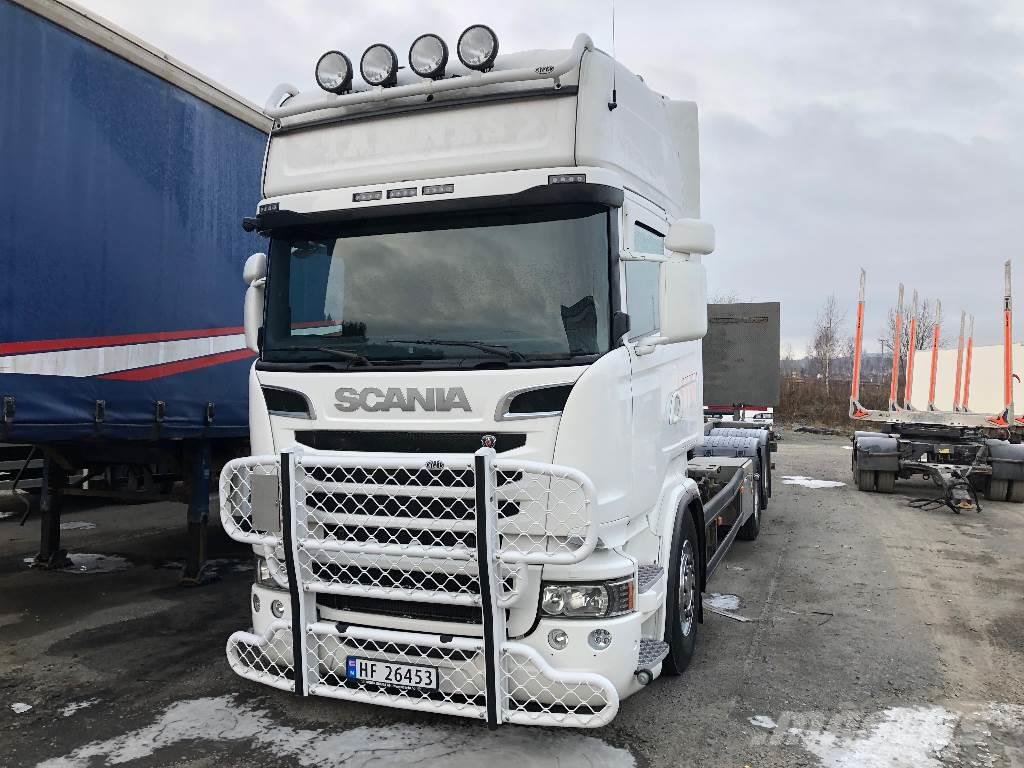Scania R560 Container med løftelem 2014 model