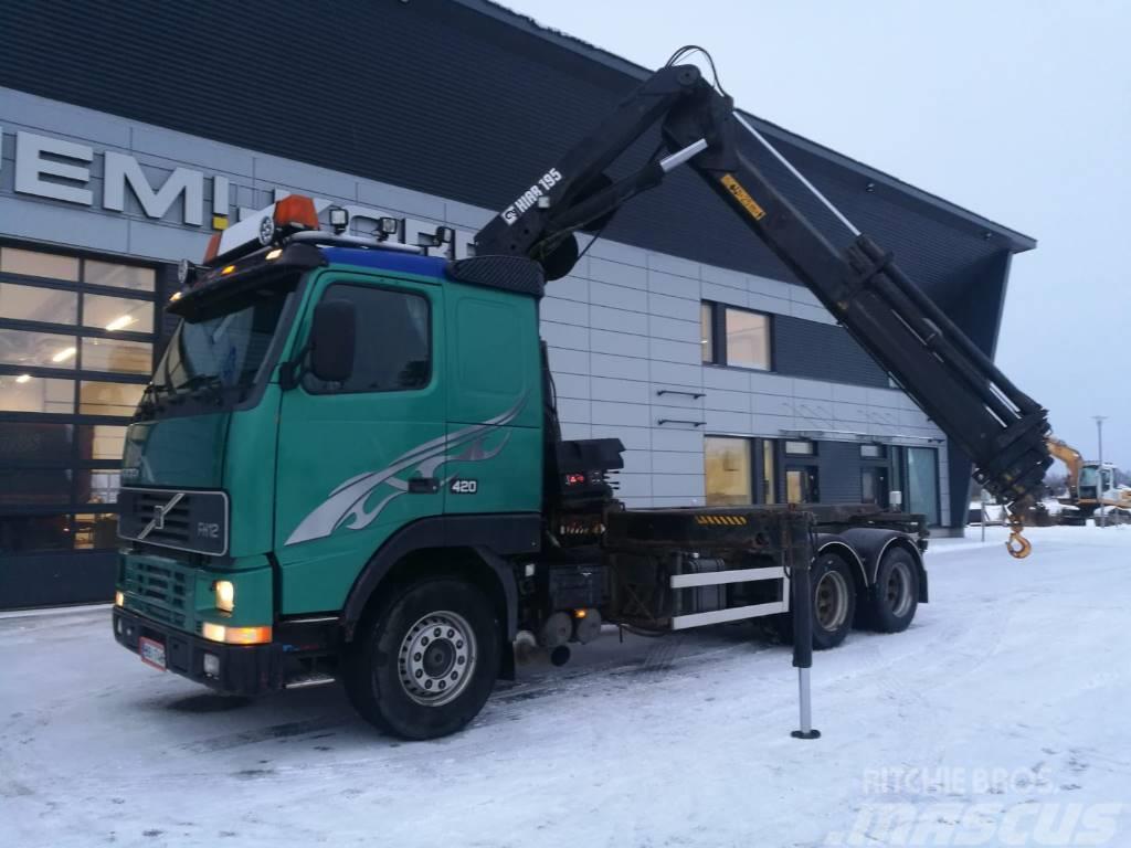 Volvo FH 12 6x4 Hiab 195+ vaijerilaite