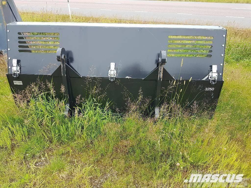 XYZ Planerskopa 2.5 m Med Snökrage.
