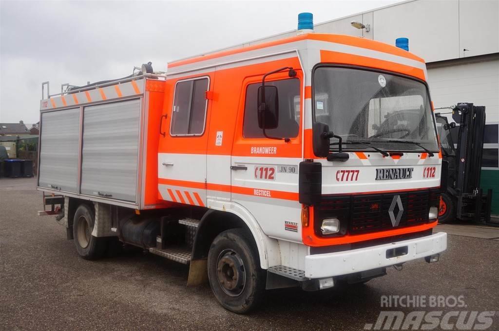 Renault Brandweerwagen JN90 / Steel suspension