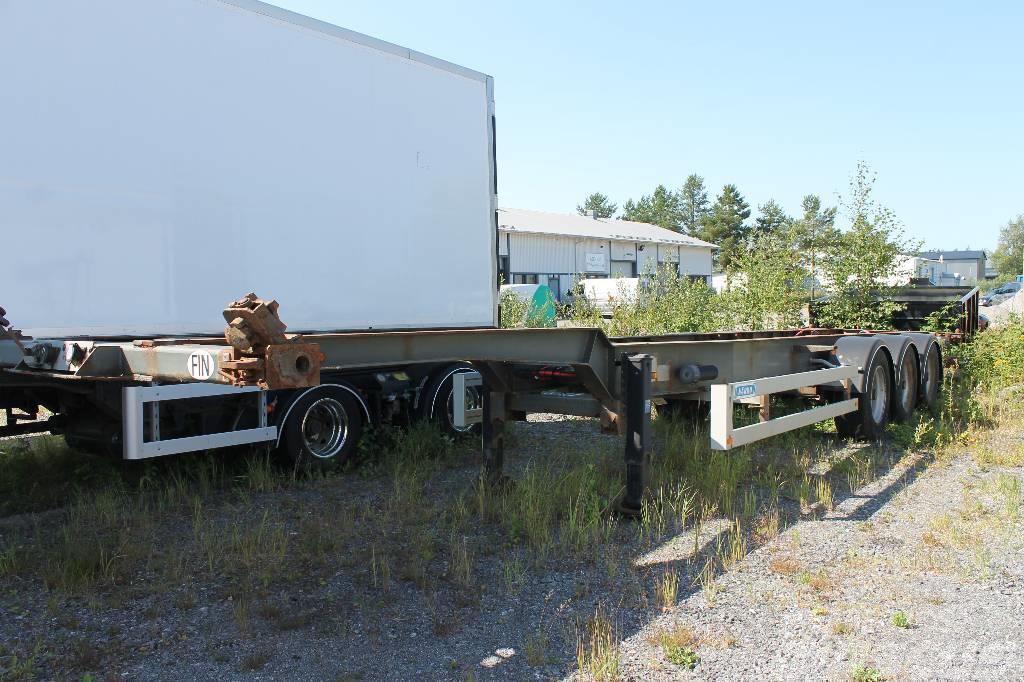 a8fa1d9ad6 Närko -vaihtolavapuoliperavaunu - Demountable semi-trailers