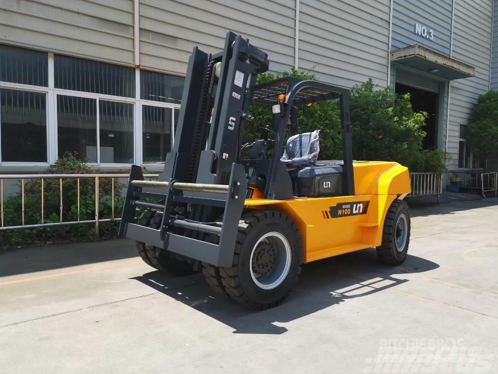 UN Forklift FD100T 10T Diesel Forklift Xichai
