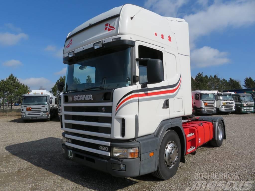 Scania 124/420 4x2 Topline